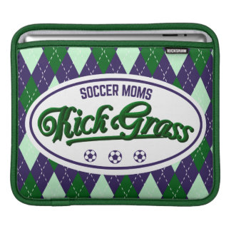 Soccer Moms Kickgrass Cover Sleeves For iPads