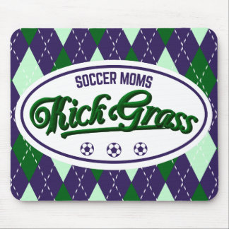 Soccer Moms Kickgrass Mousemat