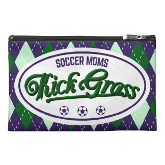Soccer Moms Kickgrass Pouch Travel Accessories Bag