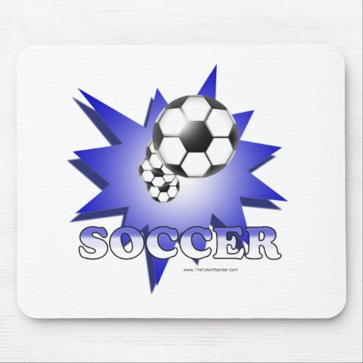 Soccer! Mouse Pad