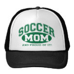 Soccer Mum and proud of it! - Green Cap