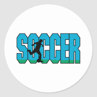 Soccer N Player Sticker