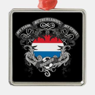 Soccer Netherlands Christmas Ornament