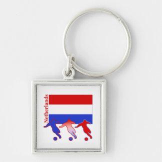 Soccer Netherlands Keychain