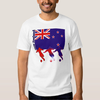 Soccer New Zealand T Shirts