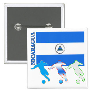 Soccer Nicaragua Button
