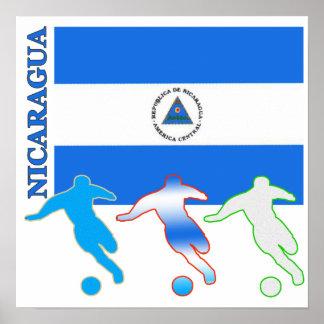 Soccer Nicaragua Poster