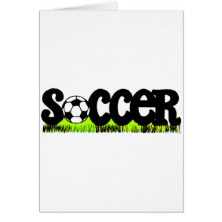 Soccer On Grass Cards