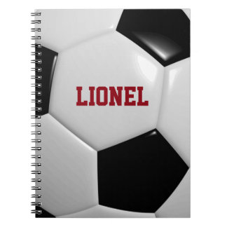 Soccer Personalized Notebook