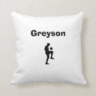Soccer Personalized Pillow (male)