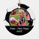 Soccer Photo Ornament