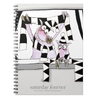 soccer pig saturday forever notebook