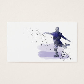 SOCCER PLAYER 2 - Business cards