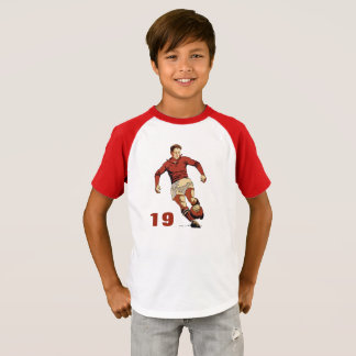 Soccer Player, add number T-Shirt