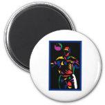 Soccer Player Art3 Magnets