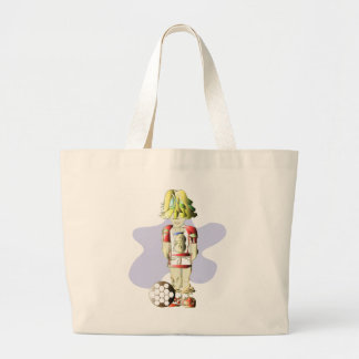 Soccer Player Art Bag
