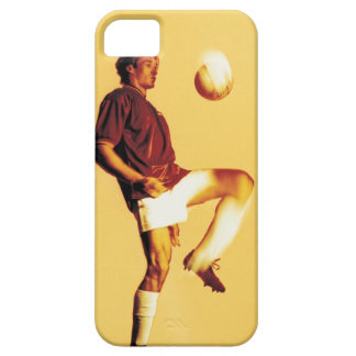 soccer player bouncing ball off knee barely there iPhone 5 case