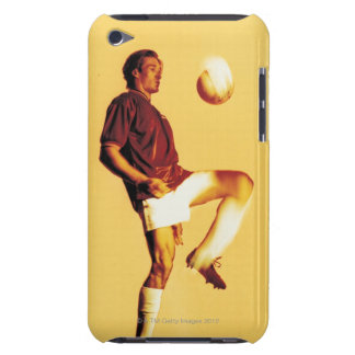 soccer player bouncing ball off knee Case-Mate iPod touch case