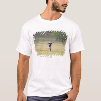 Soccer player cheering and yelling T-Shirt