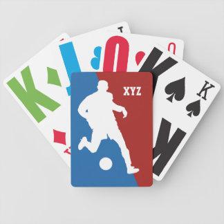 Soccer Player custom ålaying cards