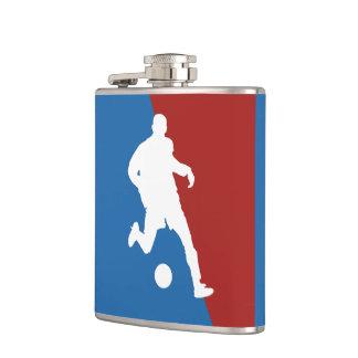 Soccer Player custom flask