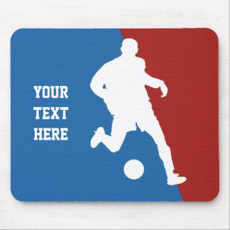 Soccer Player custom mousepad