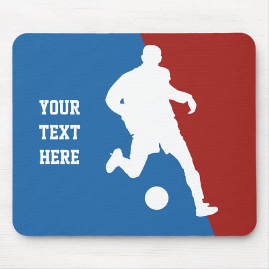 Soccer Player custom mousepad