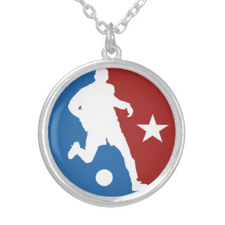 Soccer Player custom necklace