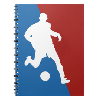 Soccer Player custom notebook