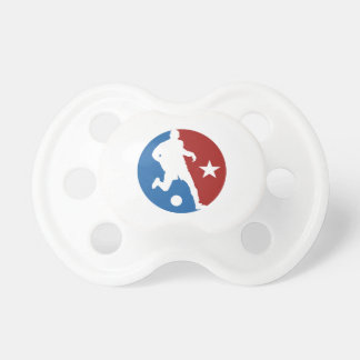 Soccer Player custom pacifiers