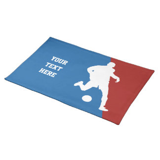 Soccer Player custom placemats