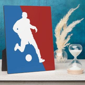 Soccer Player custom plaque