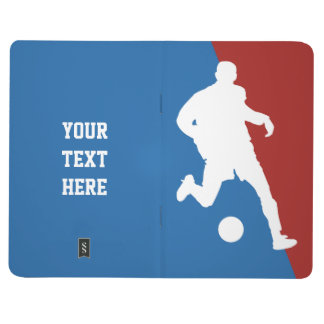 Soccer Player custom pocket journal