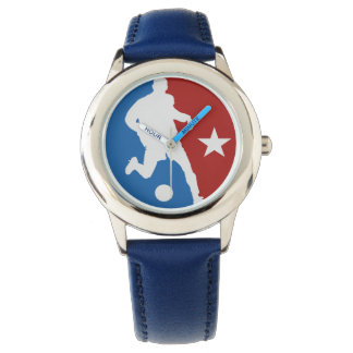 Soccer Player custom watches