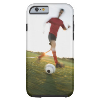 Soccer player dribbling ball tough iPhone 6 case