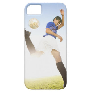 Soccer player jump kicking case for the iPhone 5