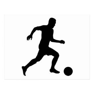 Soccer Player Postcard