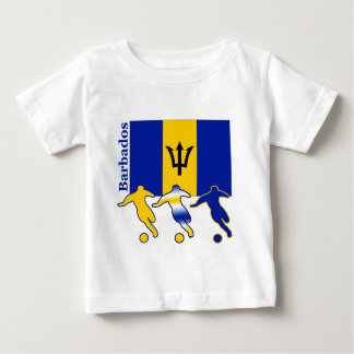 Soccer Players -  Barbados Baby T-Shirt