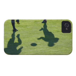 Soccer players doing drills. iPhone 4 case