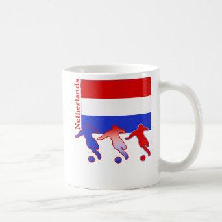 Soccer Players - Netherlands Coffee Mugs