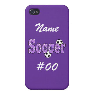 Soccer Polka Dots iPhone 4/4S Cases
