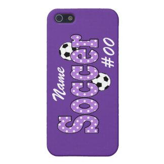Soccer Polka Dots iPhone 5/5S Case