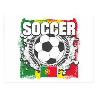 Soccer Portugal Postcard