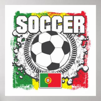 Soccer Portugal Poster