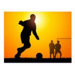 Soccer Postcard