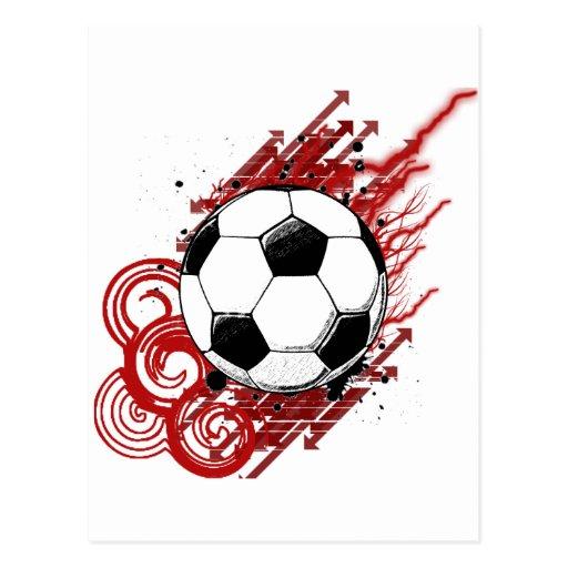 Soccer Post Cards