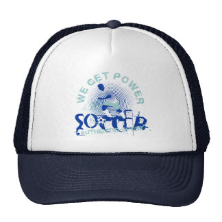 Soccer Power Tshirts and Gifts Trucker Hat