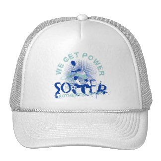 Soccer Power Tshirts and Gifts Mesh Hats