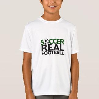 Soccer=Real Football Tee Shirt