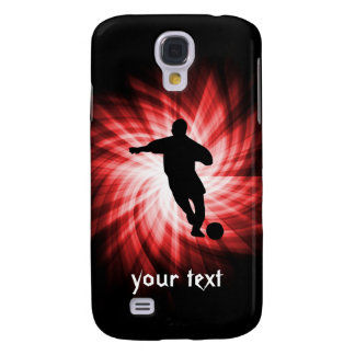 Soccer; red galaxy s4 case